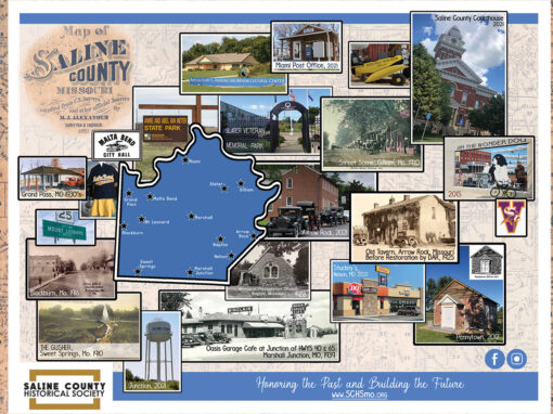 Saline County Now and Then